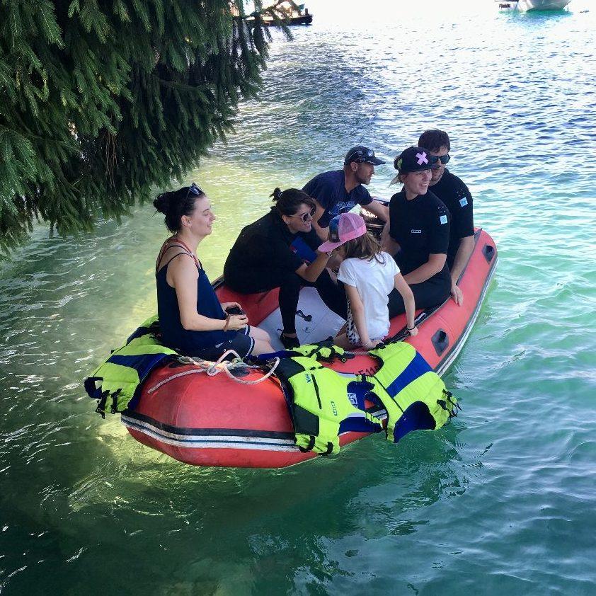 bateau sécurité efoil