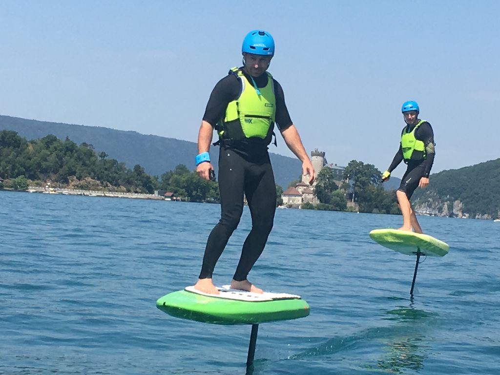 surf électrique foil